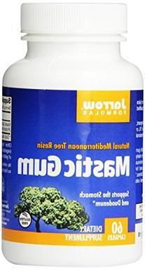 Jarrow Formulas Mastic Gum, 500 mg, 60 Count