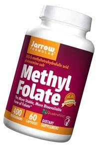 Jarrow Formulas Methyl Folate 5-MTHF, Supports Brain, Memory