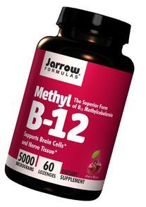 Formulas Methylcobalamin , 5000mcg, 60 Lozenges  ,-wsdj