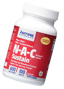 Jarrow Formulas N-A-C Sustain, Supports Liver and Lung