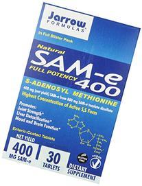 Jarrow Formulas SAM-e, Promotes Joint Strength, Mood and