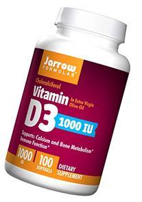 Jarrow Formulas Vitamin D3 , Supports Calcium and Bone