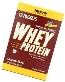 Jarrow Formulas Whey Protein, Supports Muscle Development, Chocolate, 12 Count