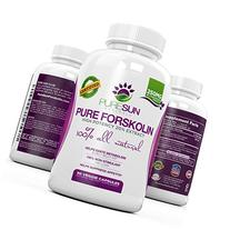 Pure Sun Naturals Pure and Potent Forskolin Weight Loss
