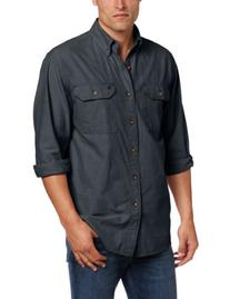 Carhartt Men's Fort Long Sleeve Shirt Lightweight Chambray