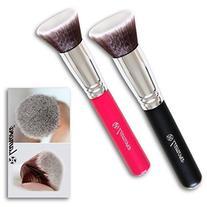 Foundation Makeup Brush Flat Top Kabuki for Face - Perfect