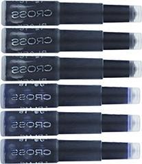 Cross Fountain Pen Cartridge Ink Refills, Blue / Black Ink