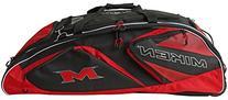 Miken Freak Tournament Bag, Black/Red, 37 x 13 x 12