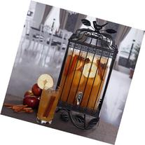 Gibson Fredonia 1.32 gal Glass Drink Dispenser with Black