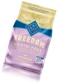 Blue Freedom Kitten Indoor Grain Free Chicken Dry Cat Food 5