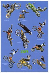 Studio B Freestyle Motorcross Poster