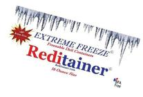 Reditainer Extreme Freeze Deli Food Containers with Lids, 16