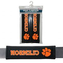 NCAA Clemson Tigers Seat Belt Pads, One Size