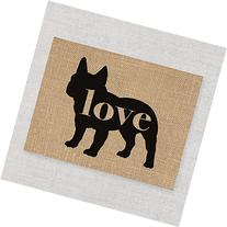 French Bulldog Love - A Print on Your Choice of Fine Art