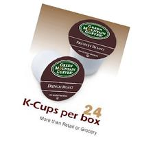 Green Mountain French Roast Coffee, K-cups, 24 ea