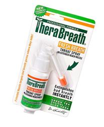 TheraBreath Fresh Breath Throat Spray with Green Tea Xylitol
