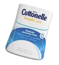 Cottonelle Fresh Care Flushable Moist Wipes in Upright