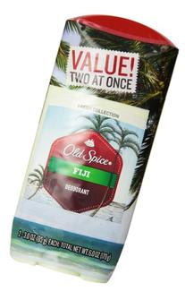 Old Spice Fresh Collection Deodorant Fiji Scent Twin Pack, 3