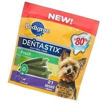 Pedigree Fresh Dentastix 21 Mini Treats Small/Toy Dogs, 5.26
