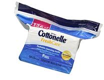 Cottonelle Fresh Flushable Wipes, Refills, Case of 4/126s