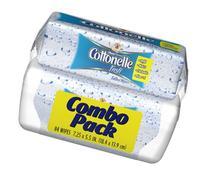 Cottonelle Fresh Folded Moist Wipes Pop-Up Tub/Refill Combo