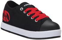 Heelys Fresh X2 Skate Shoe , Black/Red, 6 M US Big Kid