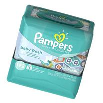 Pampers Baby Wipes Baby Fresh 3X, 192 Count