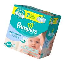 Pampers Baby Fresh Baby Wipes 7x Pop-top Pack - 448 Count