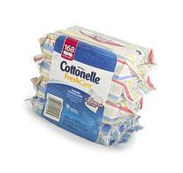 Cottonelle FreshCare Flushable Cleansing Cloths, 168 Count