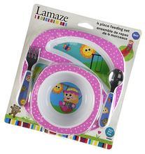 Lamaze My Friend Emily-A-Lot 4 Piece Feeding Set