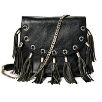 GUESS by Marciano Fringe Saddle Crossbody