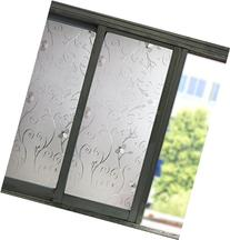 Coavas Frosted Window Film Privacy Protection Static Window