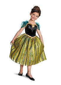 Anna Coronation Gown Deluxe Costume - X-Small