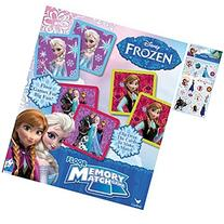 Disney Frozen Memory Match Game Holiday Gift Set For Kids -