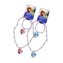 Disney Frozen Necklace & Bracelet Set - 1 Set of the