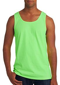 Fruit Of The Loom Adult Heavy Cotton Hd Tank Top, Neon Green