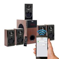 Frisby FS-5030BT 5.1 Surround Sound Home Theater Speakers System with Bluetooth USB/SD and Remote