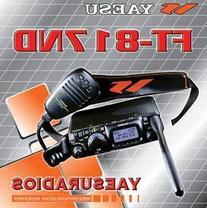 Yaesu FT-817ND HF VHF UHF Ultra Compact HF Amateur