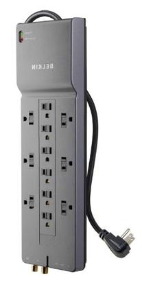 Belkin 8 ft. 12 Outlet Home / Office Surge Protector with