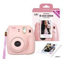 Fuji Instax Mini 8 N Pink + Original Strap Set Fujifilm