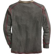 Legendary Whitetails Men's Fully Charged Henley Charcoal