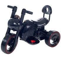 Fun, Sleek LED Space Traveler Trike in Black With Lights and