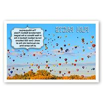 FUN FACTS postcard set of 20. Post card variety pack with