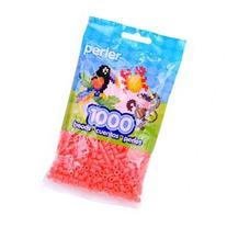 Perler Fun Fusion Beads 1000/Pkg-Hot Coral