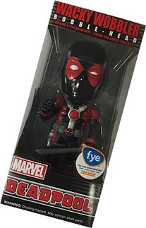 Funko Wacky Wobbler Black Suit Deadpool Exclusive Bobble