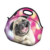 Funny Dog Soft Insulated Lunch box Food Bag Neoprene Gourmet