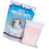 Little Stinker The Original Bag of Unicorn Farts Cotton Candy Funny Novelty Gift for Unique Birthday Gag Gift for Friends, Mom, Dad, Girl, Boy