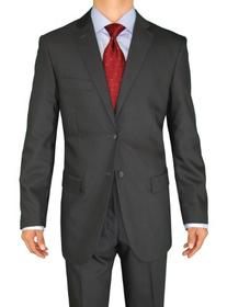 Fuomo Business Classic Men's Suit 2 Button 52L Charcoal