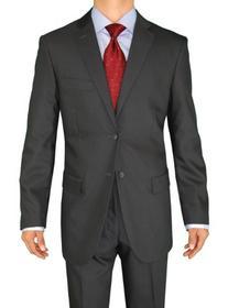 Fuomo Business Classic Men's Suit 2 Button 52L Charcoal