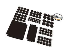 FitFabHome Premium Furniture Felt Pads | 109 Pack To Fit All